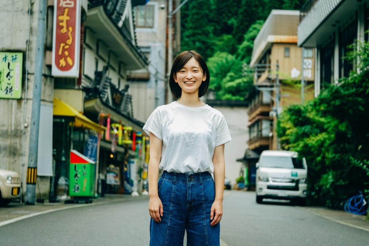 よそ者にも優しい風土に惹かれた:舟木菜瑠美さん
